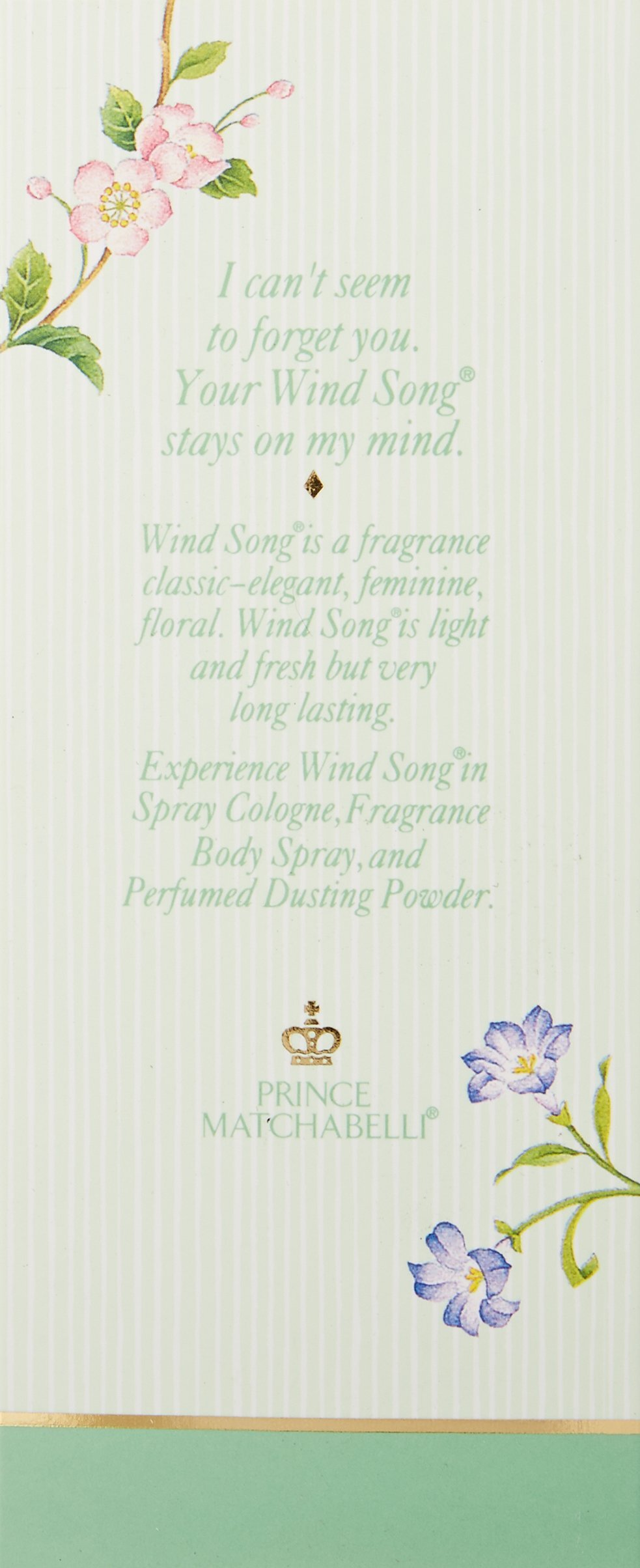Wind Song By Prince Matchabelli For Women. Cologne Spray Natural 2.6 Ounces by Prince Matchabelli