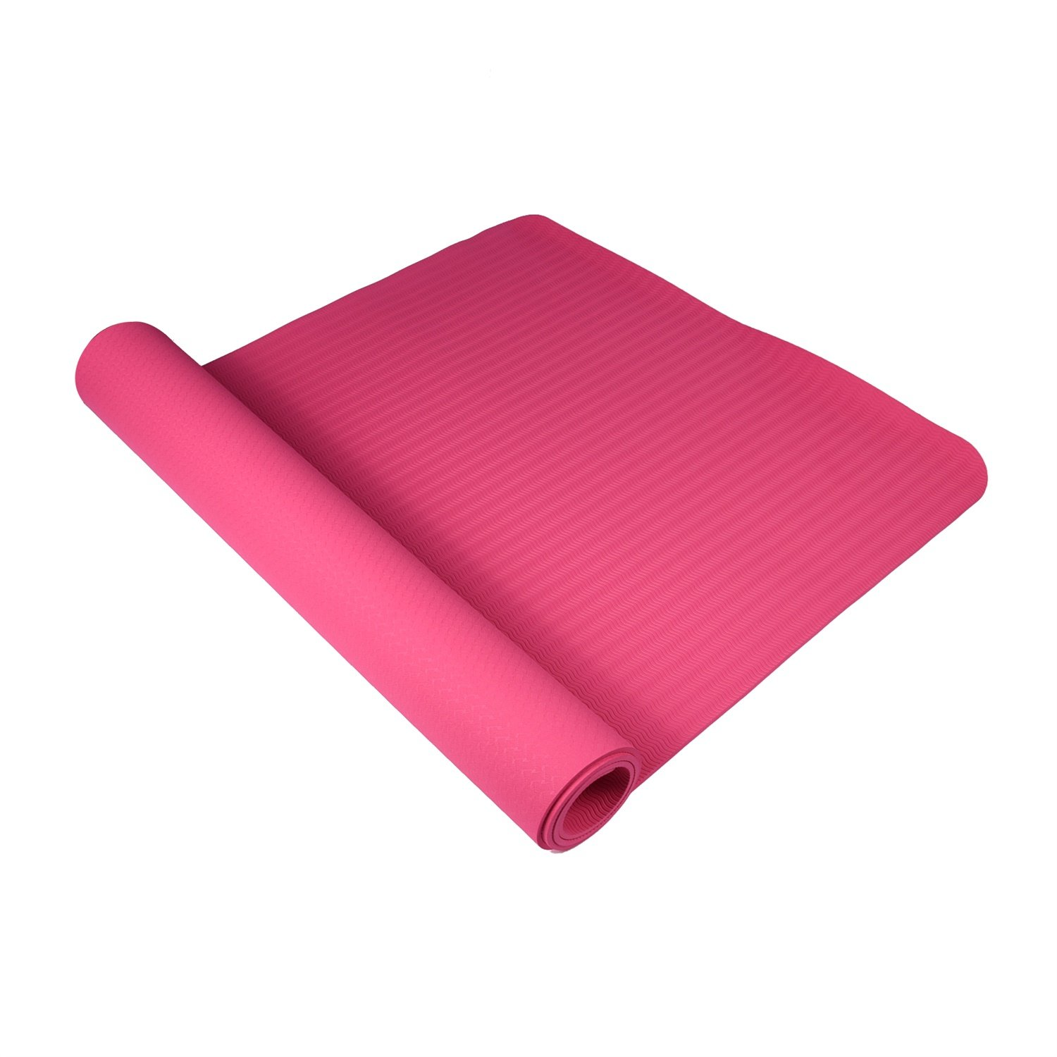 Textured Non-Slip Surface Topyea Yoga Mat,Exercise Mats,Womens Yoga Mat with Carrying Strap,1//4 Inch 1//4 Inch Textured Non-Slip Surface,Non-Toxic Material for Yoga,Workout,Sports and Exercise 71 x 24 71 x 24