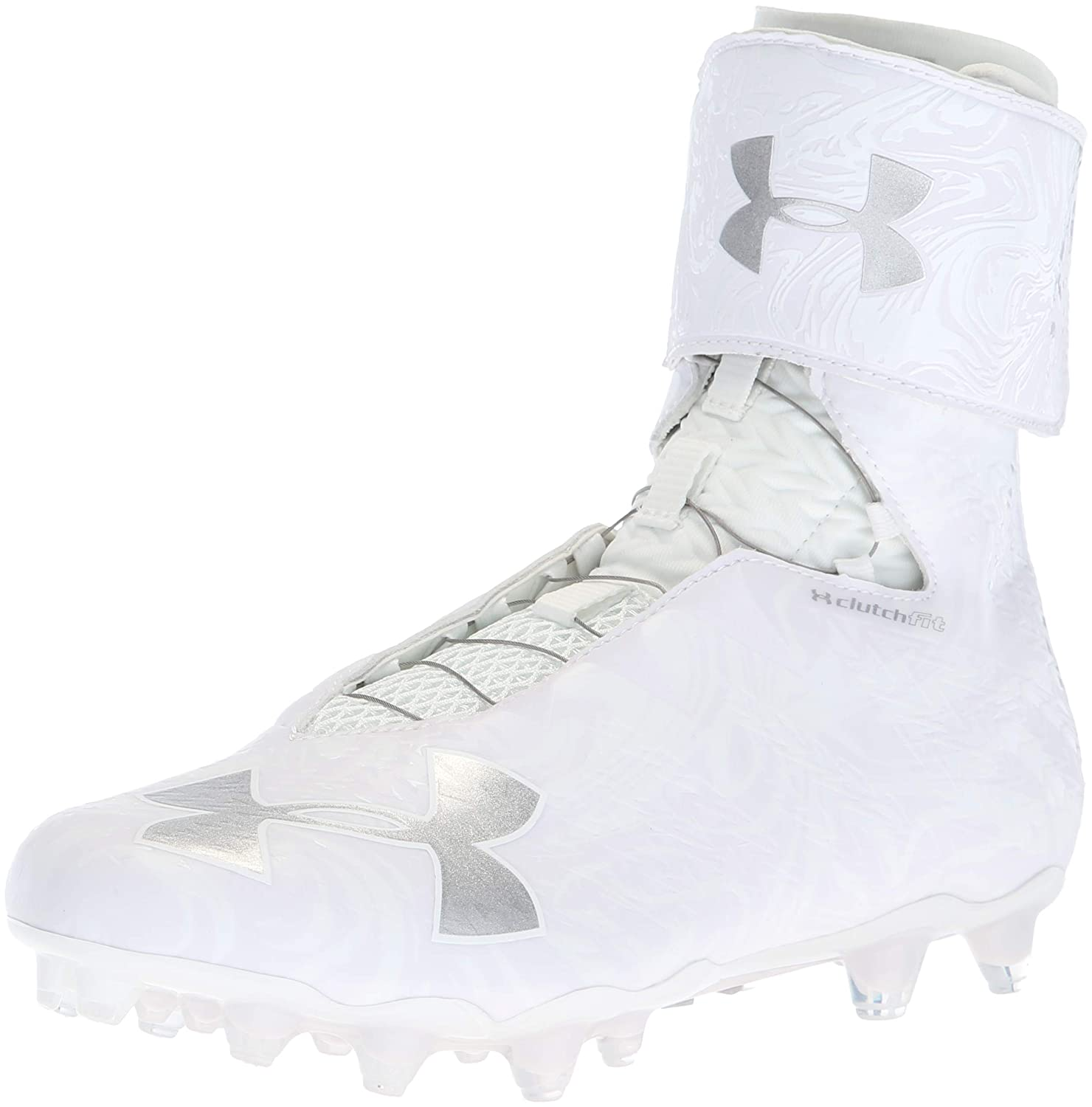 Under Armour Men's Highlight MC 2.0 Football Shoe, 100/白い, 9