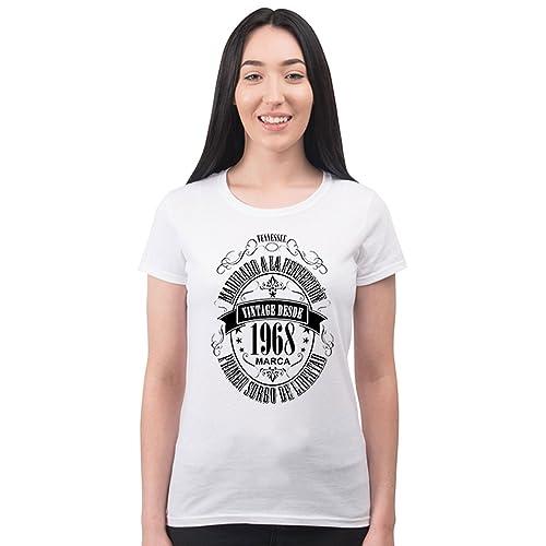Bang Tidy Clothing Camiseta para Regalo DE 50 cumpleaños para Mujer Matured 1968