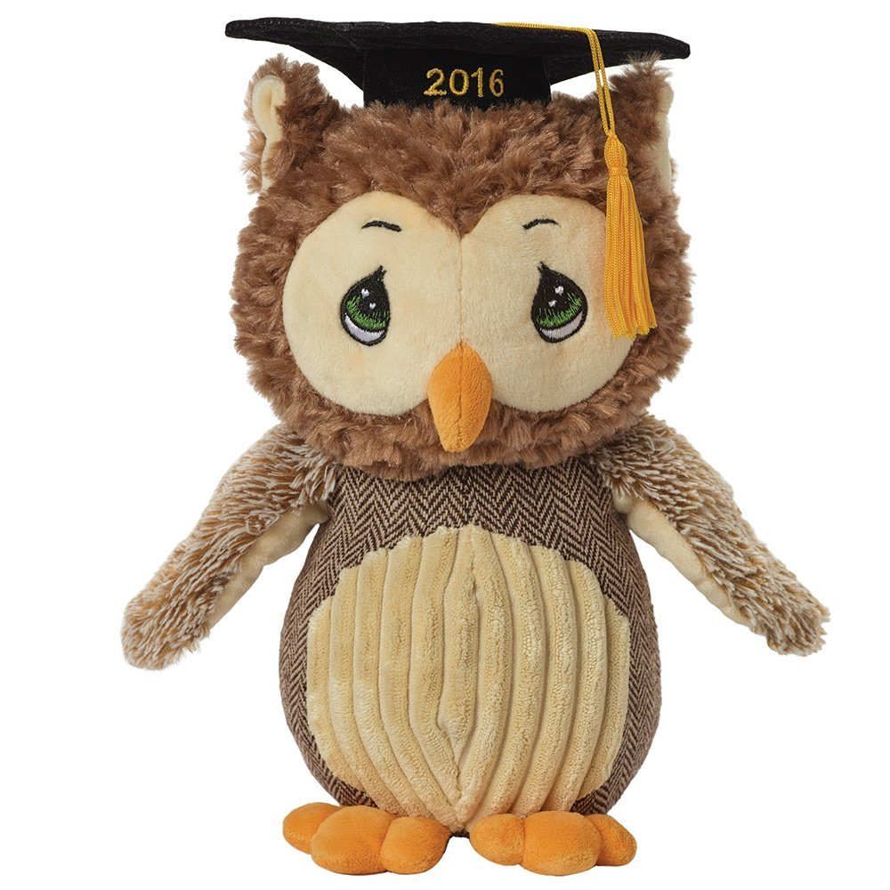Precious Moments, 2016 Dated, Look Whoo's Graduating!, Stuffed Animal, 154502 by Precious Moments (Image #1)