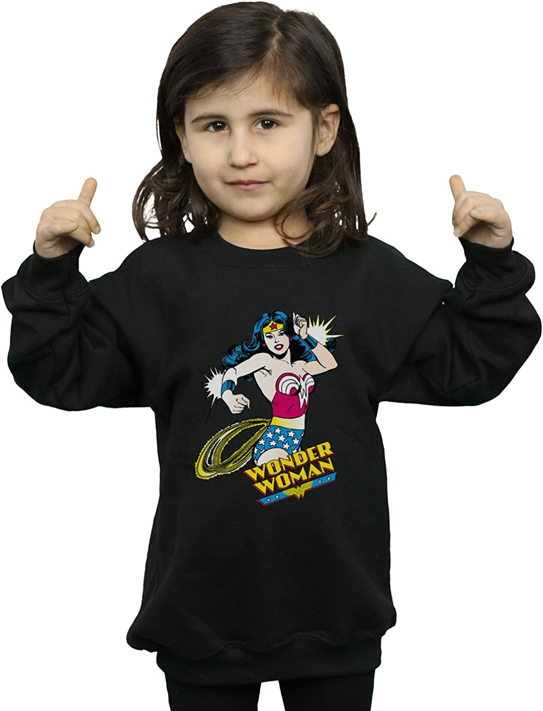 DC Comics Girls Wonder Woman Lasso Sweatshirt