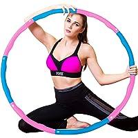 WELLXUNK Hoelahoep, hoelahoepel die kan worden gebruikt voor gewichtsvermindering en massage, hoelahoep voor fitness…