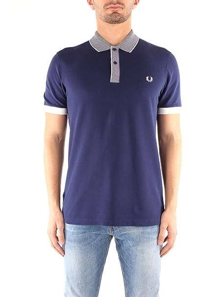 Fred Perry - Camiseta - para Hombre Azul * XXL: Amazon.es: Ropa y ...