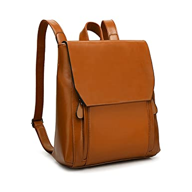 Amazon.com  Women Leather Backpack 76ec247585ff2
