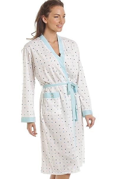 Camille - ropa de dormir Bata para Mujer de color VERDE de talla 18/20: Amazon.es: Ropa y accesorios