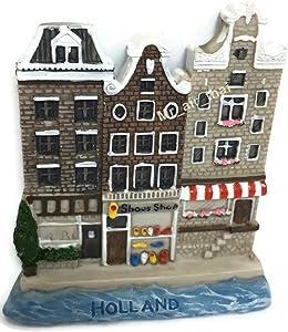 Old Wooden Shoes Shop Dutch. Houses Holland SOUVENIR RESIN 3D FRIDGE MAGNET SOUVENIR TOURIST GIFT