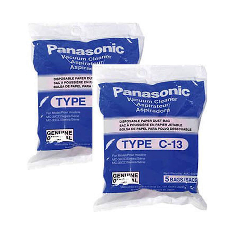 Panasonic AMC-S5EP Replacement Bag for MC-3900/MC-3920, 10-pack