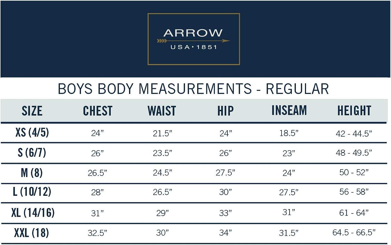 Arrow 1851 Boys Big Aroflex Stretch Suit Vest