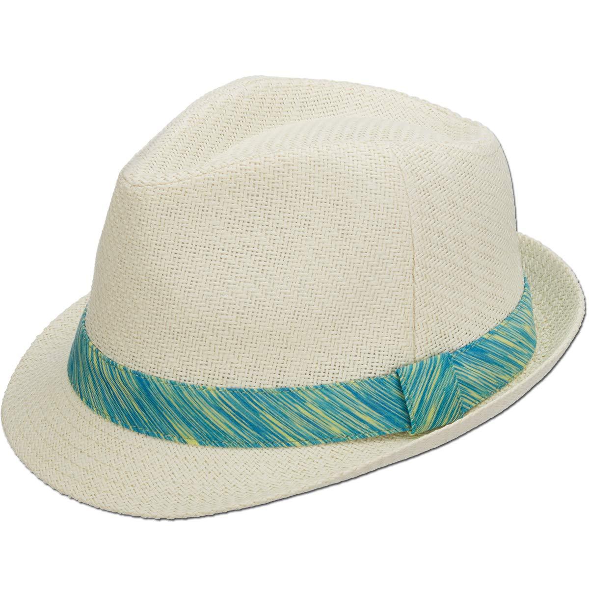 Amazon.com  Panama Jack Women s Fedora Hat - Lightweight Matte Toyo Straw 3d9802d8960