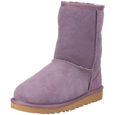 UGG Australia Kid's Classic Short 5251, Children's Boots - Purple, 30 EU