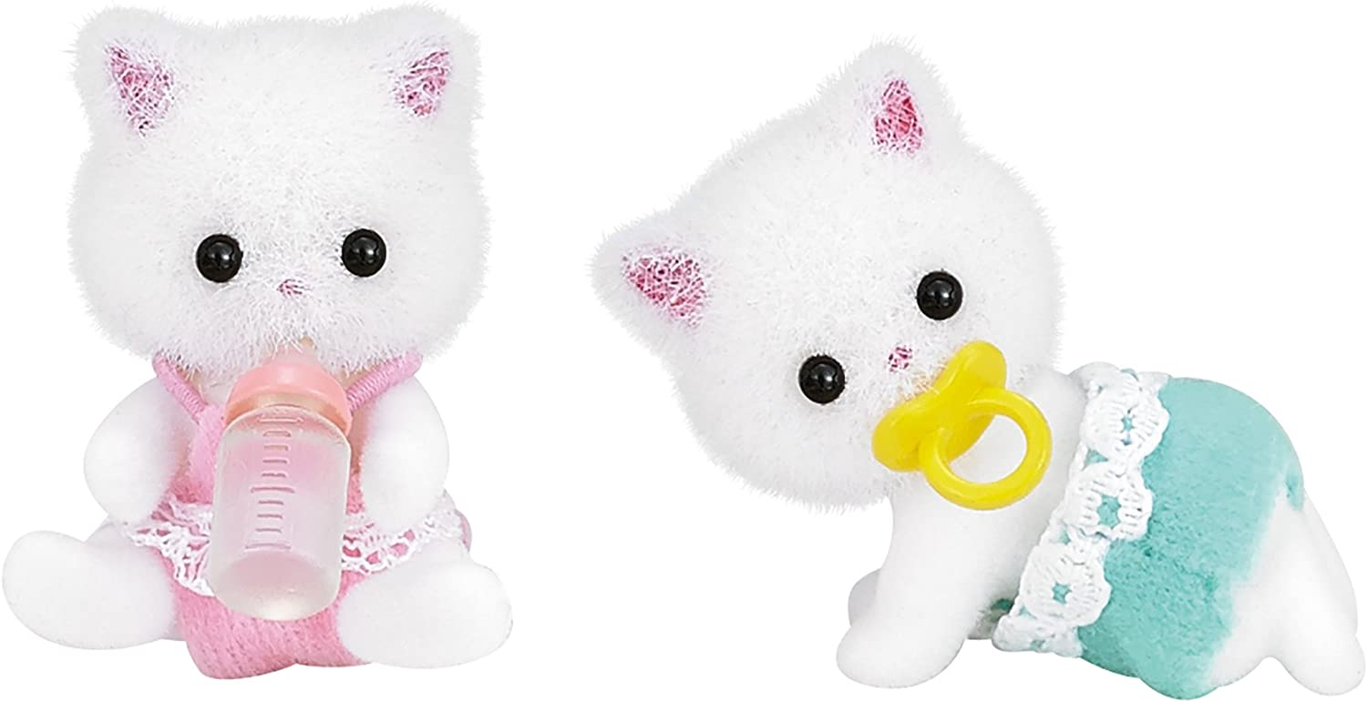 EPOCH Bargain sale Twins of Sylvanian Doll Families cat Persian Time sale