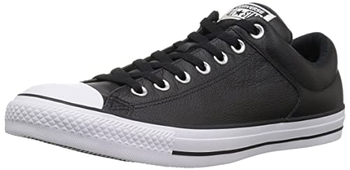 534328637ba7 Converse Unisex Adults  Ct High Street Ox Black Trainers  Amazon.co ...