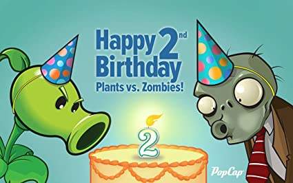 Plants Vs Zombies Pvsz Edible Cake Topper Frosting 1 4 Sheet Birthday Party