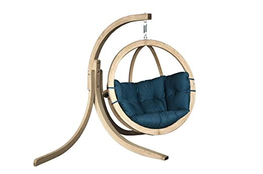KoalaHammock Set de Madera: Silla Hamaca Swing Chair Single Verde ...