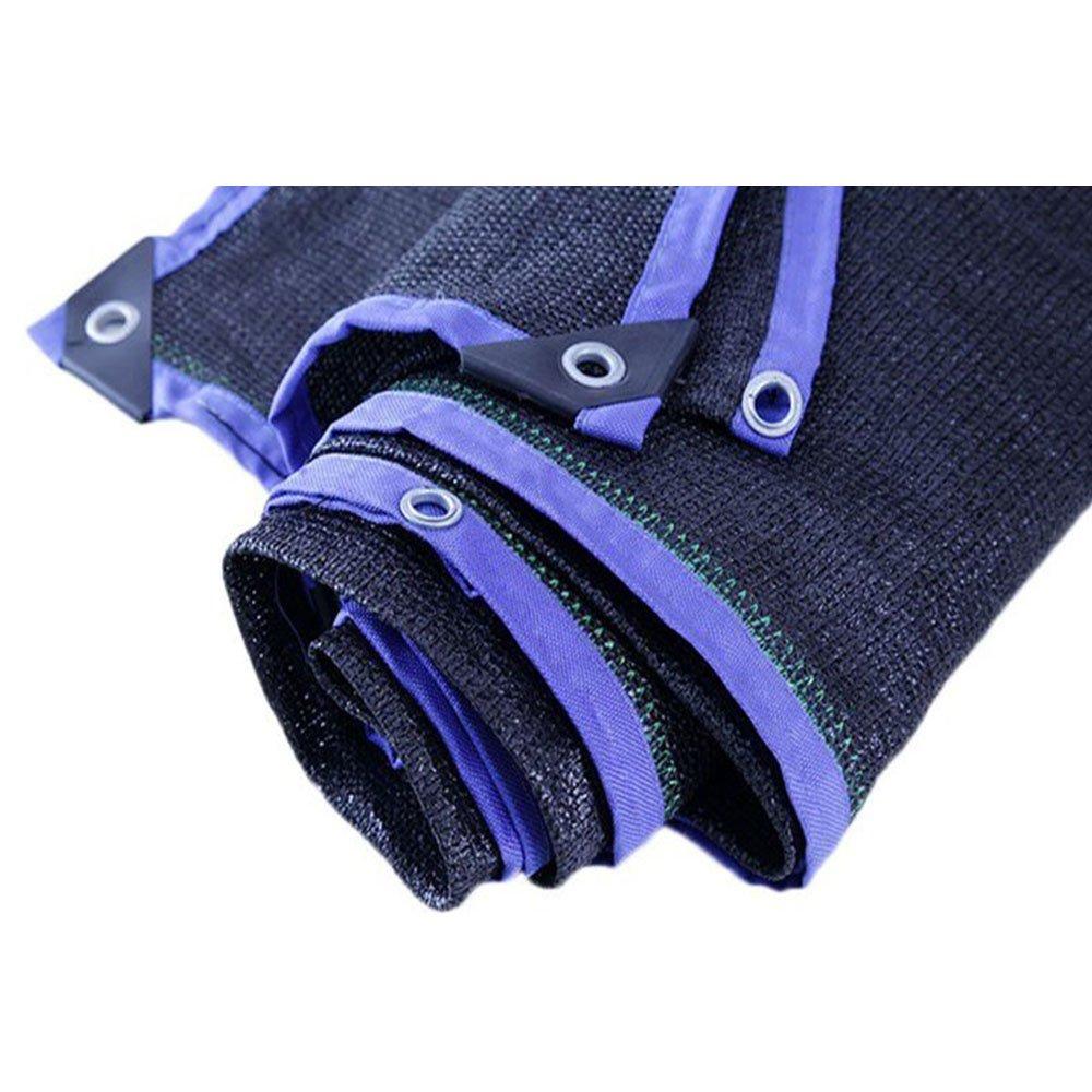 DYFYMXUV Ombra Rete Rete da ombreggiatura, Rete da Esterno Anti-UV per la Protezione Solare (colore   viola, Dimensioni   3  4m)