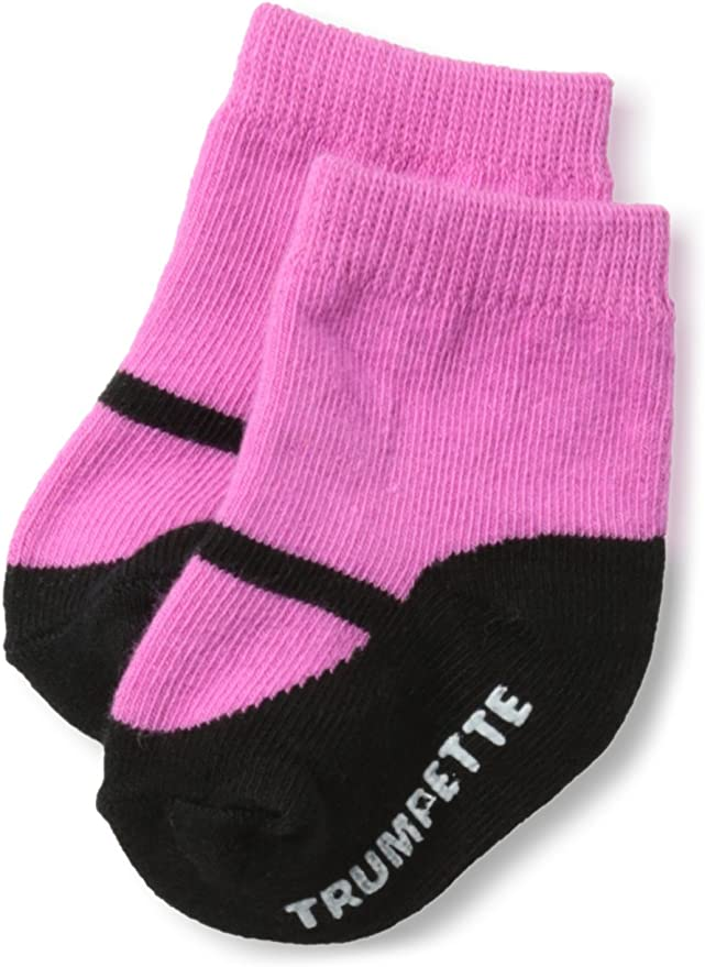 0-12mo Assorted Trumpette Infants Mary Jane Six-Piece Sock Set//Brights