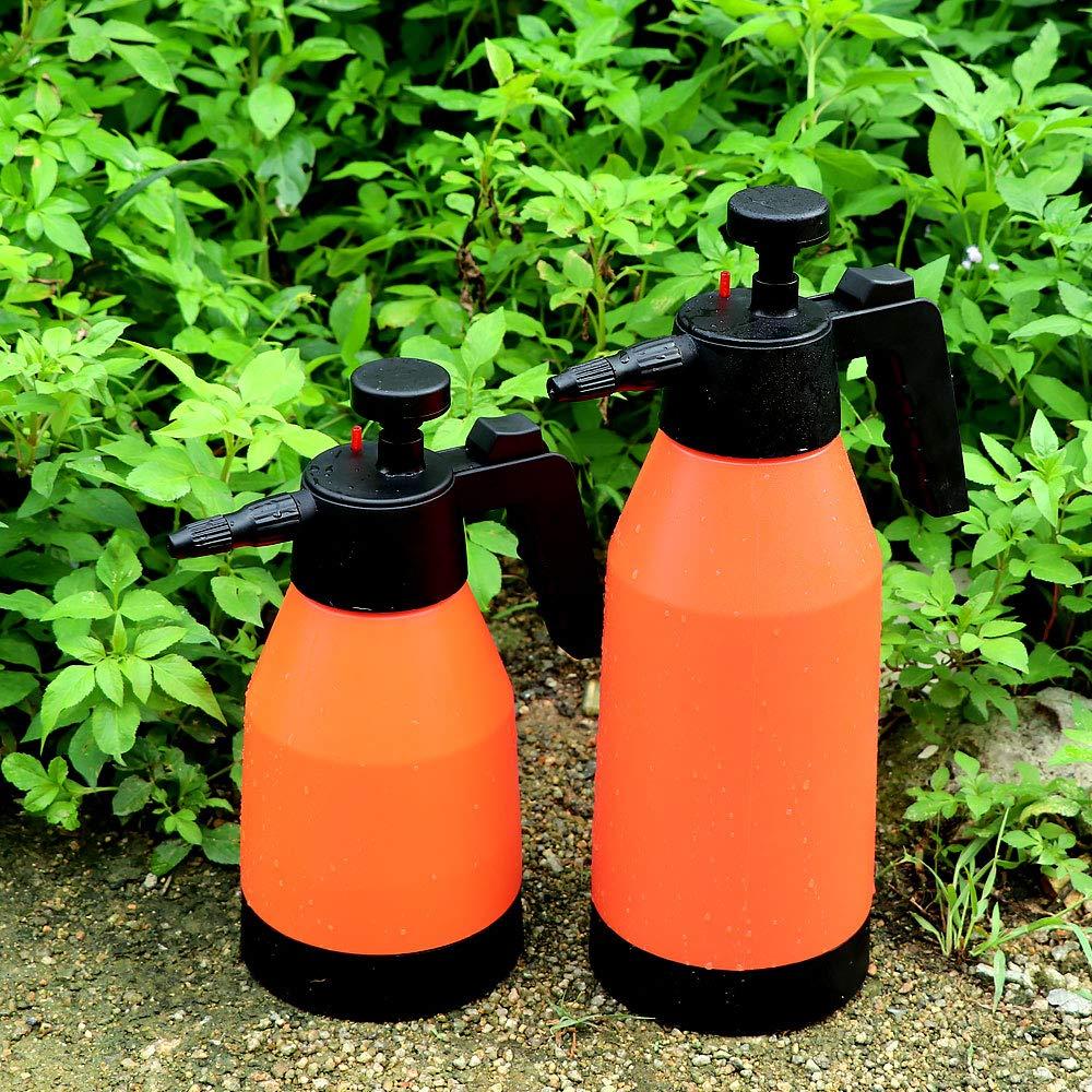 1L Flesser 1 Liters Pump Pressure Sprayer Hand Held Sprayer for Gardening,Fertilizing,Cleaning and General Use Spraying Water