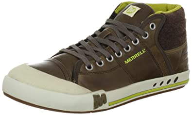 1b14c24bafce2 Merrell RANT MID BRASH Trainers Mens Brown Braun (CHOCOLATE) Size: 8 (42