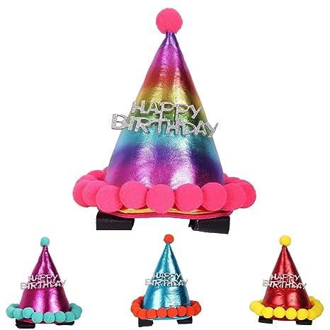NETPROSHOP Trensenschmuck - Sombrero de cumpleaños para la ...