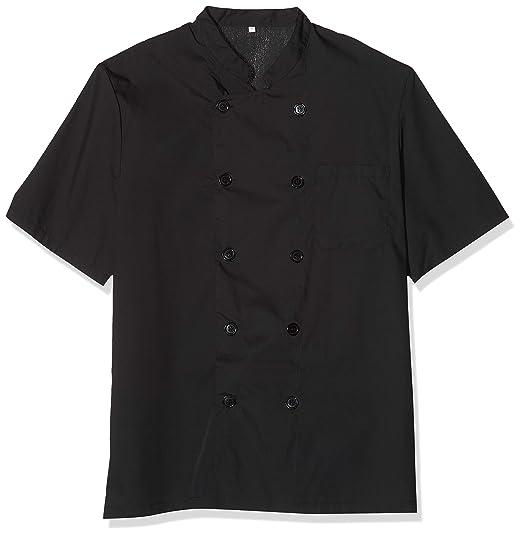 MISEMIYA Pantal/ón Cintura El/ástica Uniformes Chef Cocinera utilidades de Trabajo Unisex Adulto