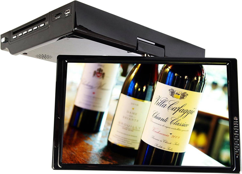 Visua 15 4 Under Cabinet Flip Down Kitchen Tv With Dvd Amazon Co Uk Electronics