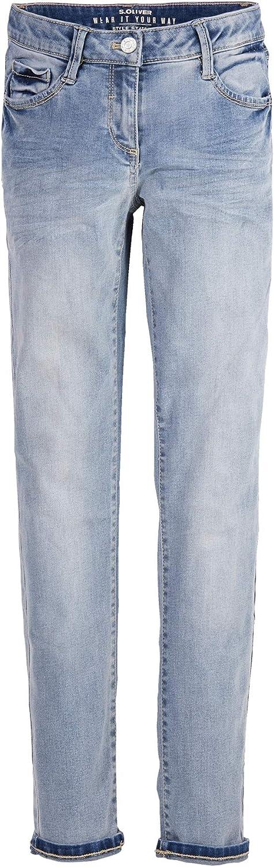 Blau 140 REG s.Oliver Junior 401.10.004.26.180.2019519 Jeans M/ädchen
