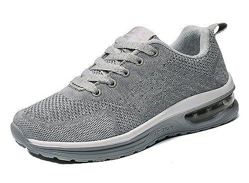 CCZZ Zapatillas De Deporte Hombres Mujer Respirable para Correr Deportes Zapatos Fitness Zapatillas De Running: Amazon.es: Zapatos y complementos