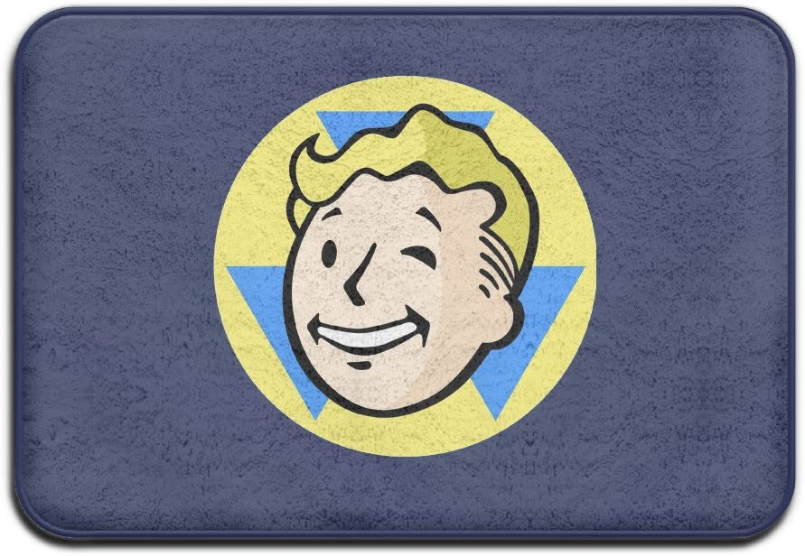 New Oio Fallout Cool Symbol Design Logo Printed Welcome Mat Doormat Outdoor Funny