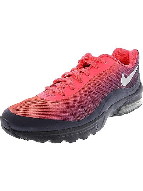 cheap for discount cdaad c9fd7 Nike Air MAX Invigor - Zapatillas de Running para Hombre, Solar  Red Metallic Silver