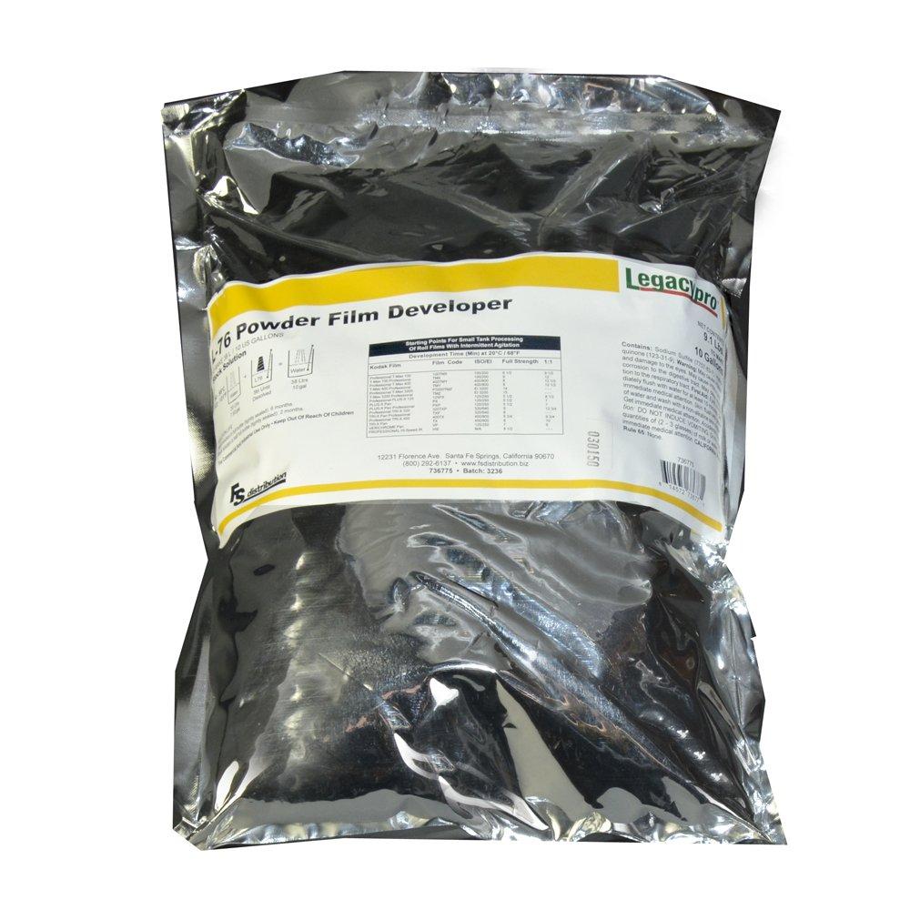 LegacyPro L-76 Black & White Powder Film Developer (Makes 10 Gallons)