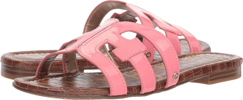 Sam Edelman Women's Bay Slide Sandal B07DKF7HP1 7 M US|Sugar Pink Patent