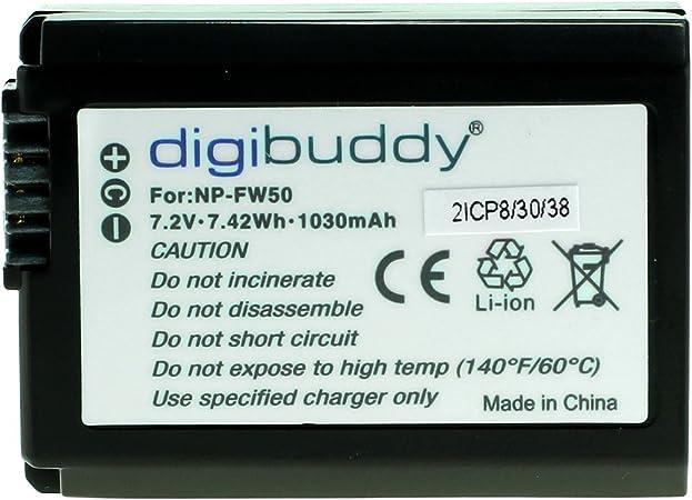 Digibuddy Premium Akku Für Sony Np Fw50 Li Ion Computer Zubehör