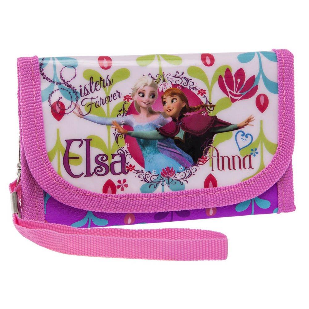 Disney 4194851 Porte Monnaie Elsa et Anna la Reine des Neiges, 8.5 cm, (Multicolore) 4198151