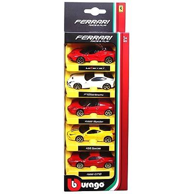 1:64 Ferrari- 5pk: Toys & Games [5Bkhe0906635]