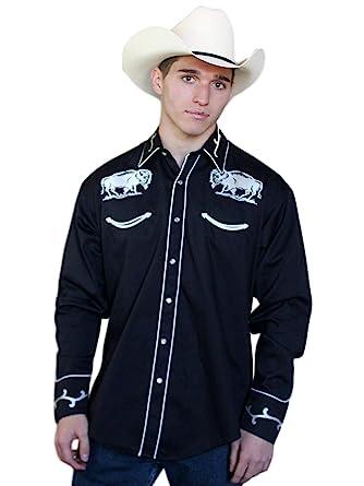 f7a45096 Rockmount Mens Vintage Bison Western Shirt at Amazon Men's Clothing ...