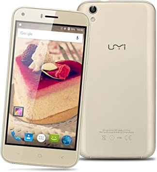 UMI London - Smartphone Móvil Libre 3G Android 6.0 (1.3GHz, 5.0 ...