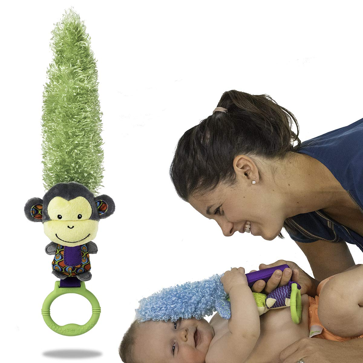 Yoee Baby Monkey Newborn Baby Toy Encourage Bonding and Development from Day One YB012