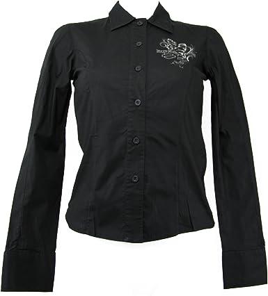 Harley-Davidson - Camisas - para mujer Negro negro medium: Amazon.es: Ropa y accesorios