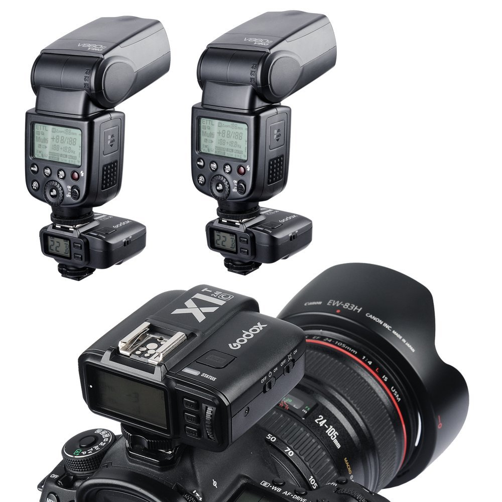 Godox X1T-C 2.4G E-TTL Wireless LCD Flash Transmitter for Canon Camera (X1T-C) by Godox (Image #6)