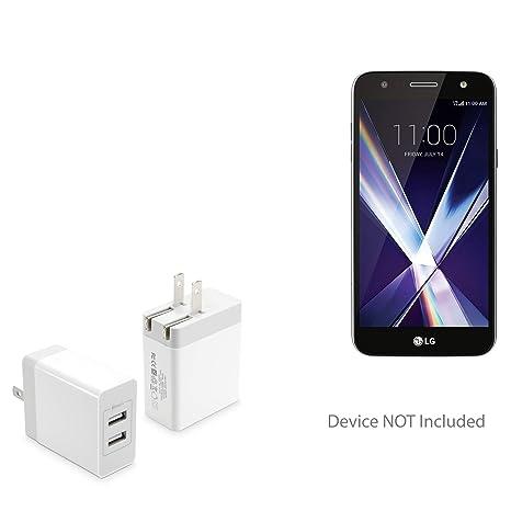 Amazon.com: BoxWave LG X Cargador de carga, [Dual High ...