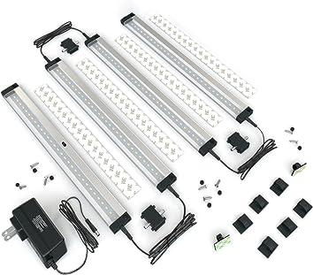EShine 4 Panels 12 Inch LED Under Cabinet Lighting