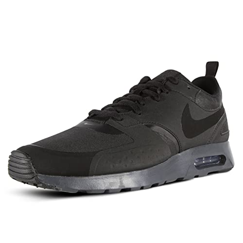 SCARPE NIKE AIR MAX VISION 918229 001 MODA UOMO FASHION TOTAL BLACK SPORTSTYLE