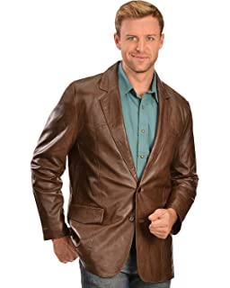 1139c153a Scully 714-12-LT-L Mens Leather Wear Lambskin Bomber Jacket, Brown ...