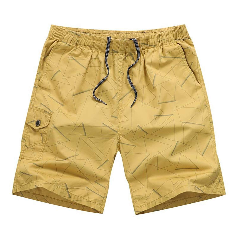 Pantalón Cargo Pantalones Cortos para Hombres con Cinturón de ...