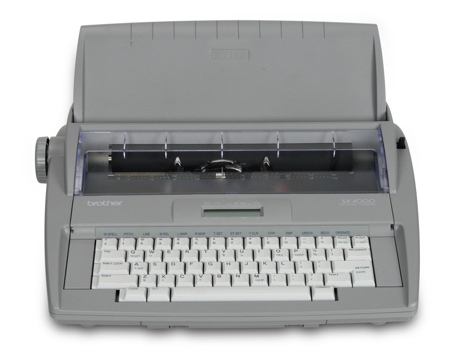 Amazon.com: Brother Printer RSX4000 Electronic Typewriter with Dictionary:  Electronics