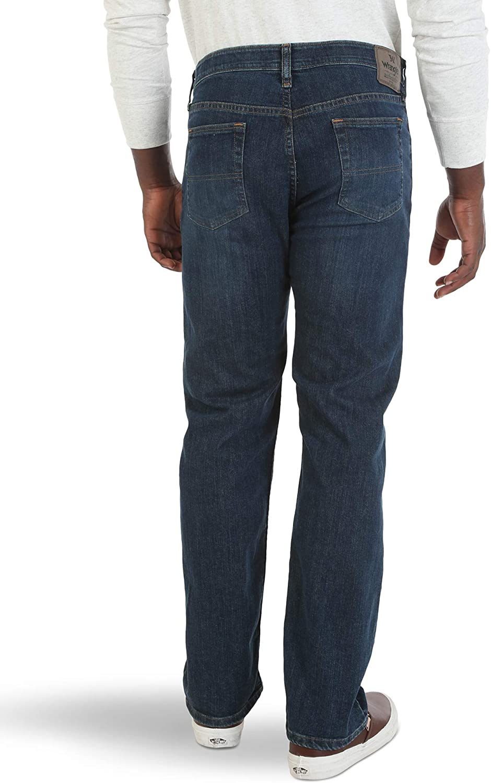 Wrangler Mens Comfort Flex Waist Relaxed Fit Jean