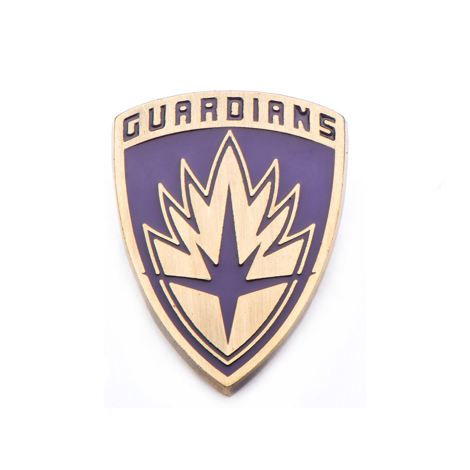 Marvel Guardians of the Galaxy Shield Base Metal Lapel Pin Inox GOTGPIN01