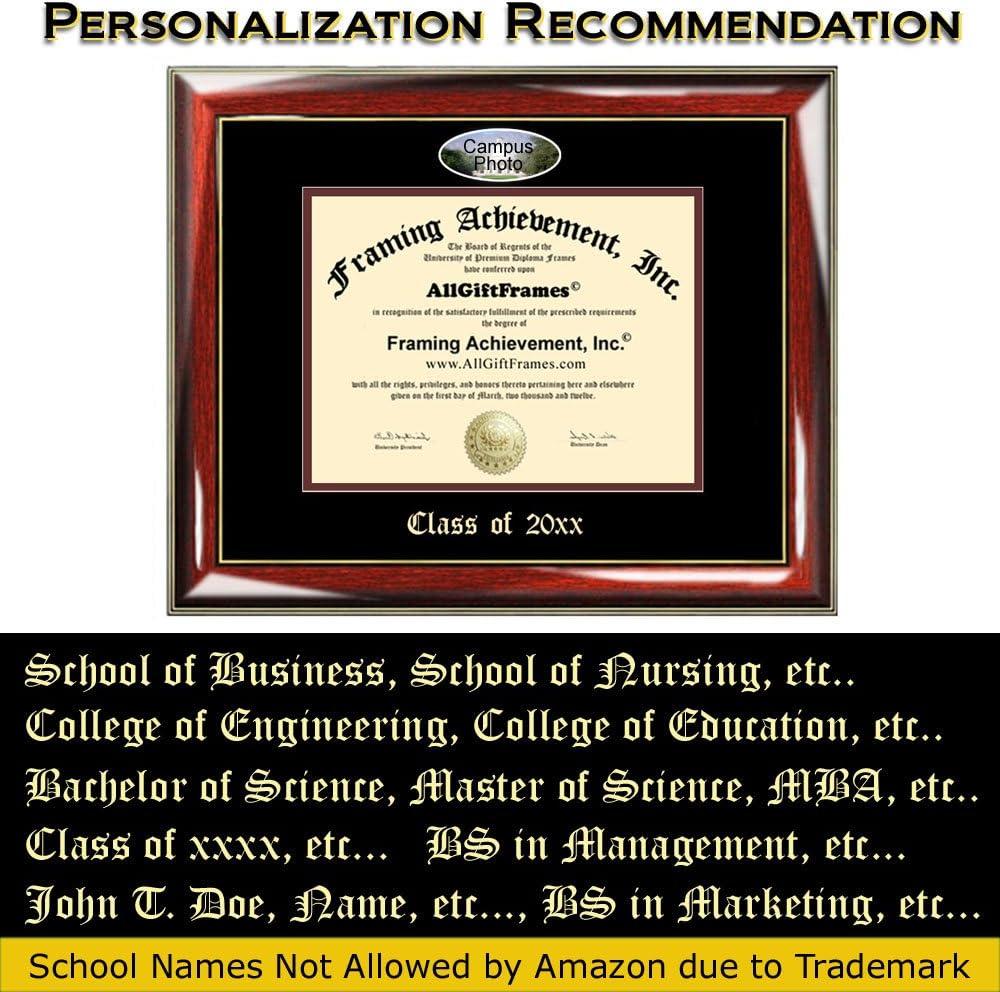Custom Diploma Frames Embossed Best Graduation Degree Frame Diploma Frame Auburn University Double Mat Campus Fisheye Picture Frame Cheap Degree Certificate Holder Graduate Gift