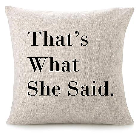 Amazon.com: CHICCAT - Funda de almohada de lino y algodón ...